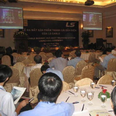 Thái Sơn Nam ra mắt thị trường Việt Nam Thanh Cái Dẫn Điện LSC BUSDUCT