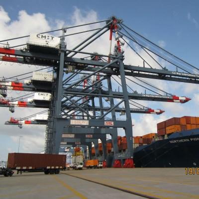 Cảng biển Quốc tế Cái Mép – Vũng Tàu 2010