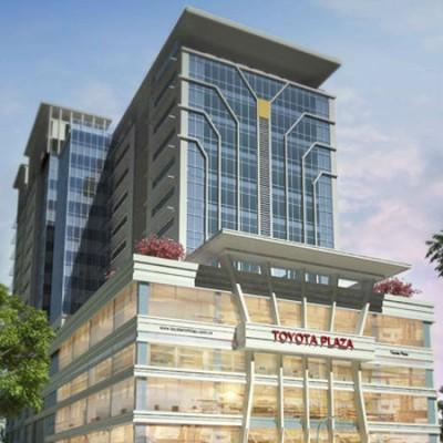 Cao ốc Toyota Plaza – Cần Thơ 2013