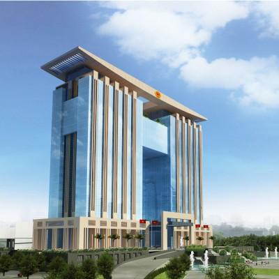 Binh Duong Intergrated Political Admin Center - 2013